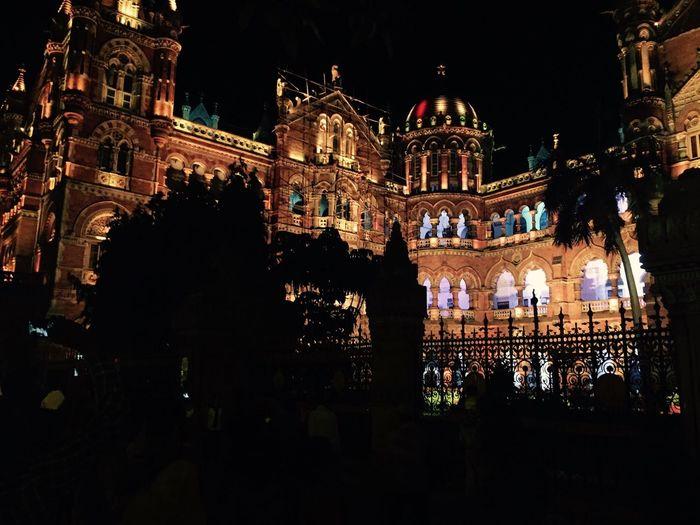 Chhatrapati Shivaji Terminus. The City Which Never Sleeps