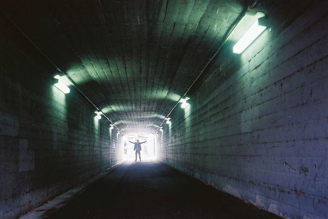 tunnelman Signet35 Kodak Supergold400 Kodak Kodak_photo Film Film Photography Tunnel Tunnel Vision Tunnel View