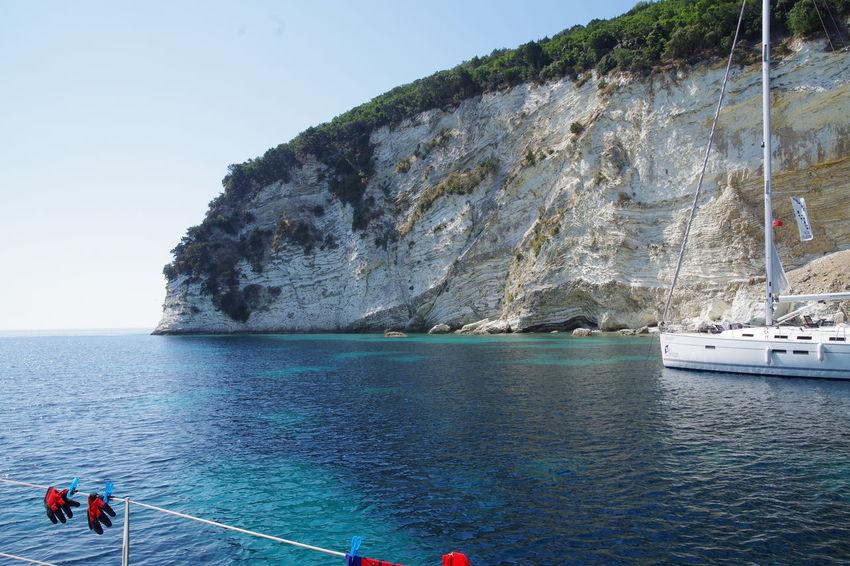 GREECE ♥♥ Griechenland Ionic Sea Ionisches Meer Nofilter PENTAX K-S2 Sailing Sea Segeln