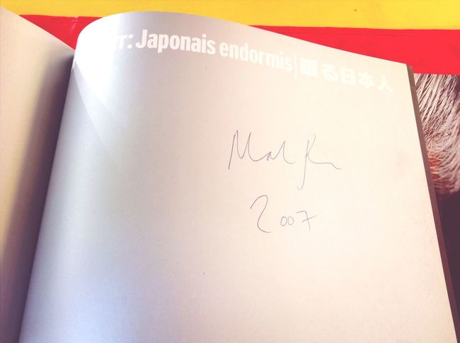Japonais Endormis Books Signed Martin Parr