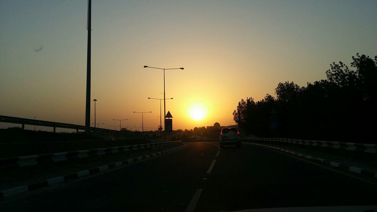 Sunset Highway Dukhan Beach Dukhan