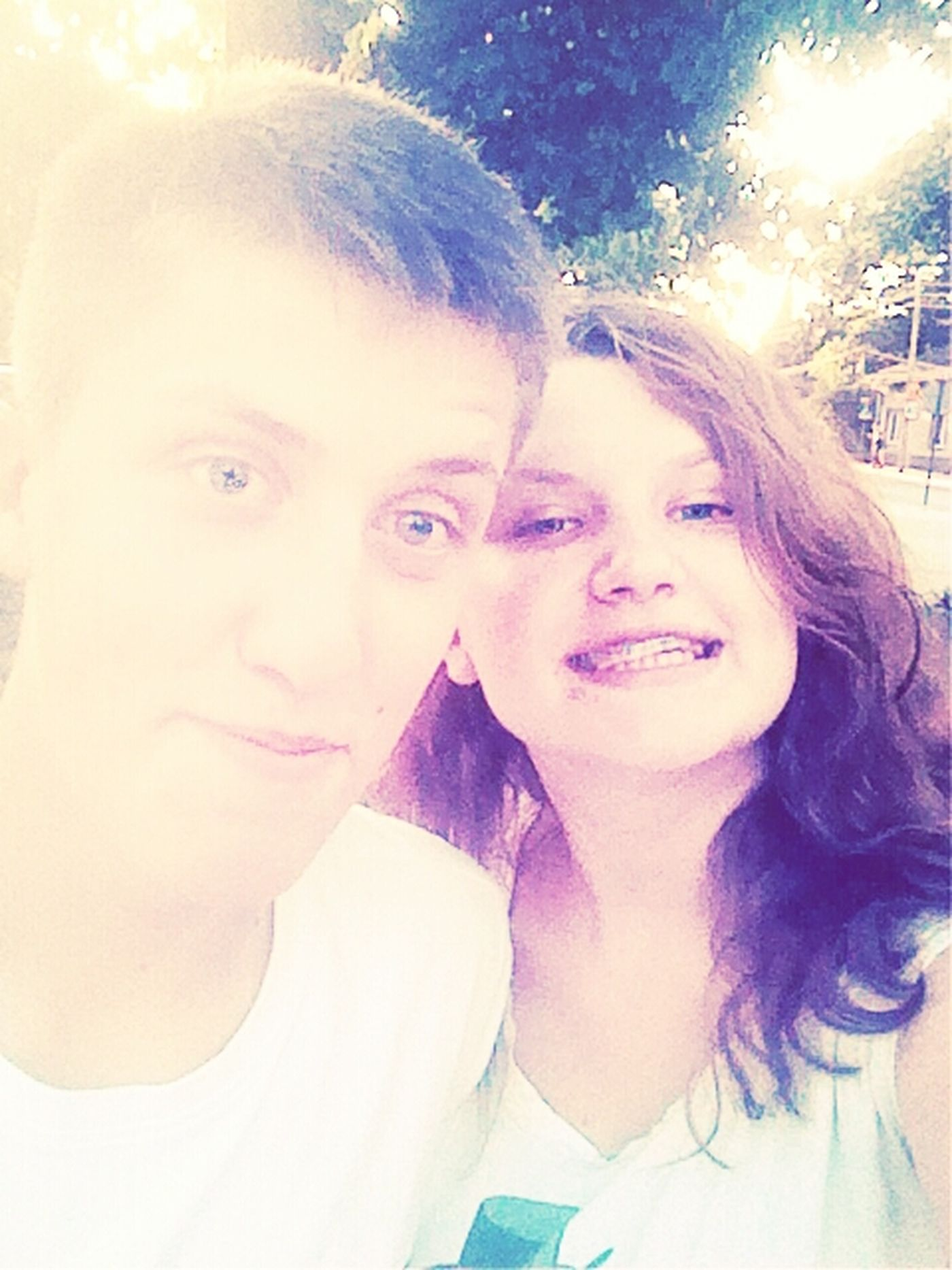 Love We Are So Cute Cute Couple Blue Eyes