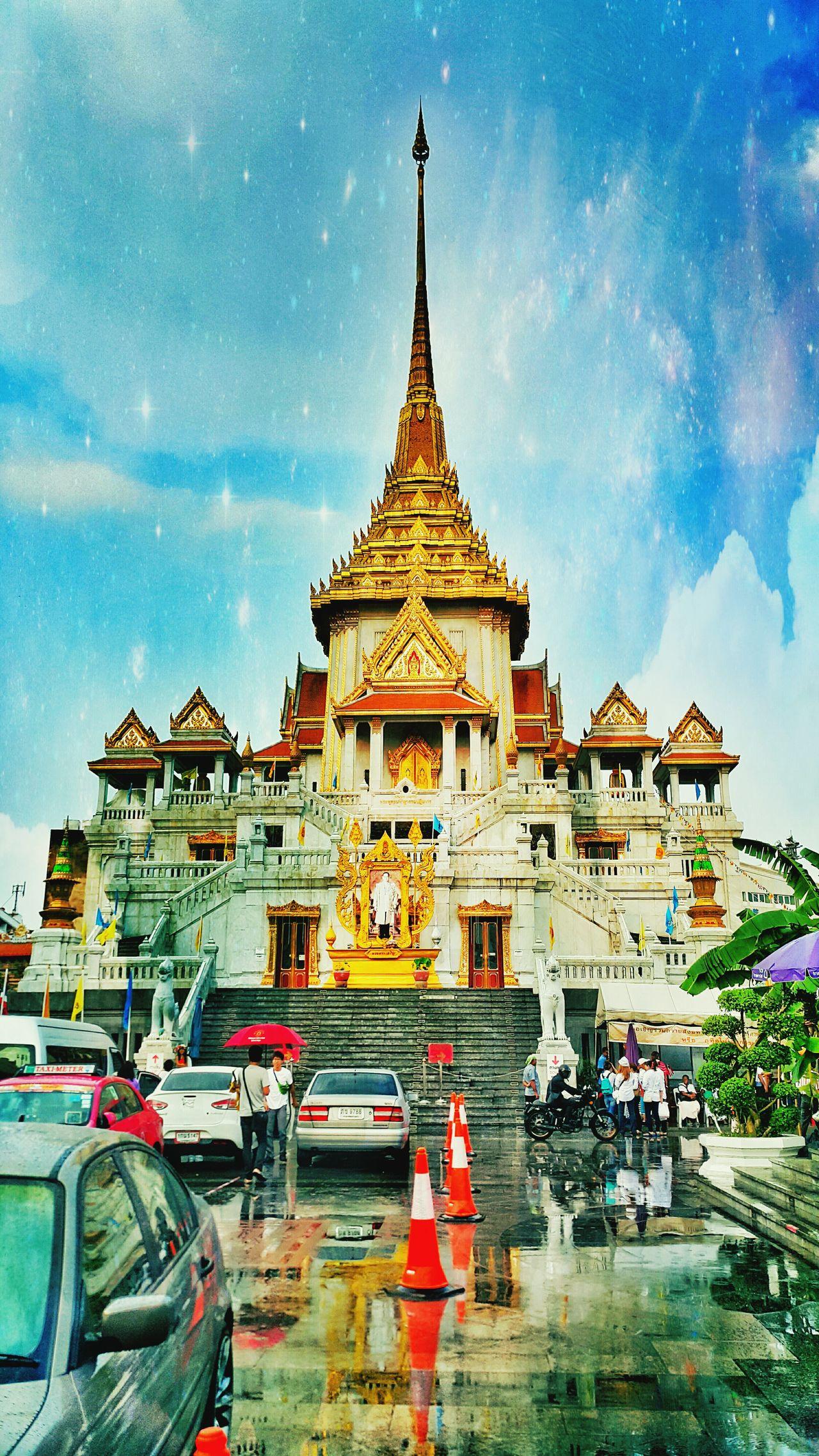 Temple Thailand Bangkok Trimittemple