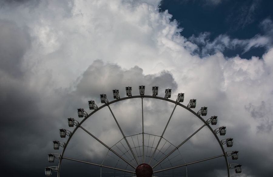 hanseatic well mixed Cityscape Darkness And Light EyeEm Best Shots Ferries Wheel Funfair Hamburg Hamburger Dom Himmel Himmel Und Wolken Jahrmarkt Kirmes Light And Shadow Riesenrad Showcase July Sky Sky And Clouds Sky_collection Skyporn Taking Photos Urban Urban Nature Urbanphotography Urbanscape Weather Weekend