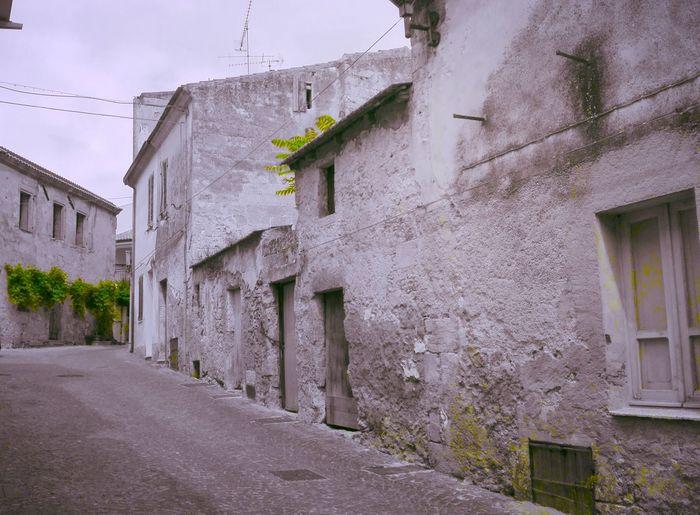 Muri di Sardegna Sardegna Muri Vicolo Strade Isola Antico