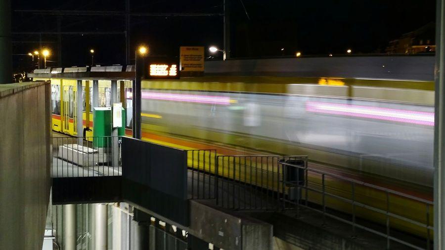 Trafic Urban Urban Transportation Tramway Straßenbahn BLT Basel Baselland Basel, Switzerland Overnight Success Night Photography Nightphotography Night Lights Switzerland Suisse  Bale  Traveling Home For The Holidays Your Ticket To Europe