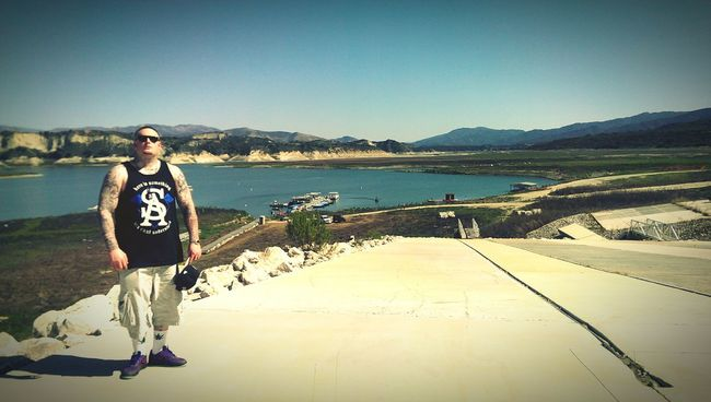 Soul Assassins Soldier out here Cachuma Lake! West Up! First Eyeem Photo