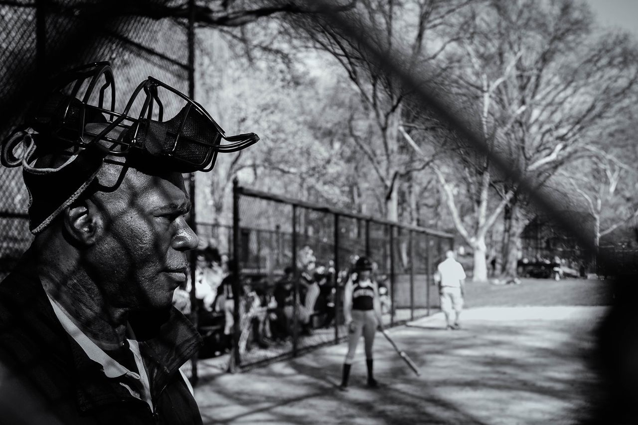 Real People NYC New York Streetphoto_bw Travel Streetphotography NYC Photography Noir Et Blanc Black & White Central Park Baseball Fujifilm_xseries Fujifilm Fuji ExploreEverything Explore