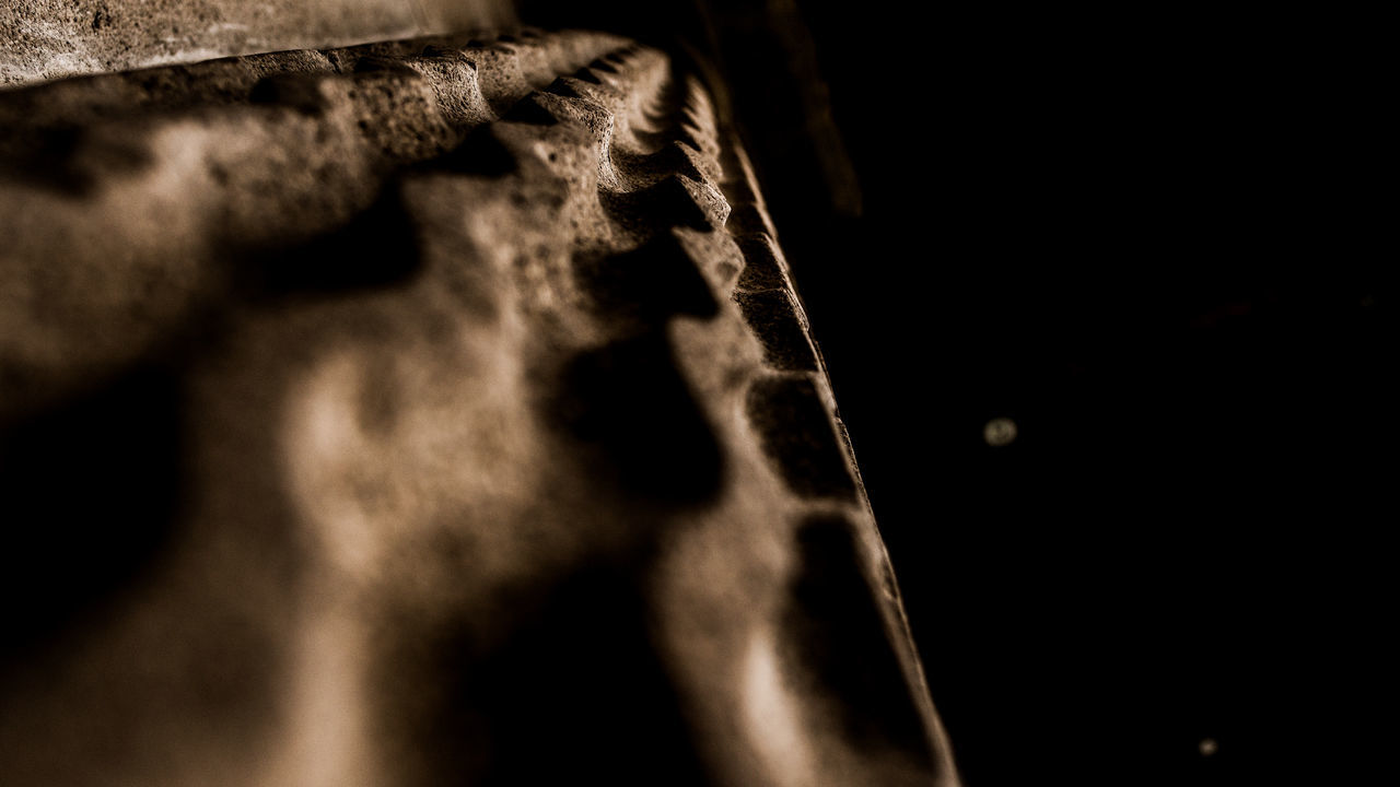 Stone texture - Perspective Photographer Perspective Contrast Close-up Darkness And Light Light And Shadow EyeEm Best Shots Sonyimages No People Streetphotography Mexico City City Black Background Day Arquitecture Baroque Stone Textures Mexicanphotographer Urbanphotography