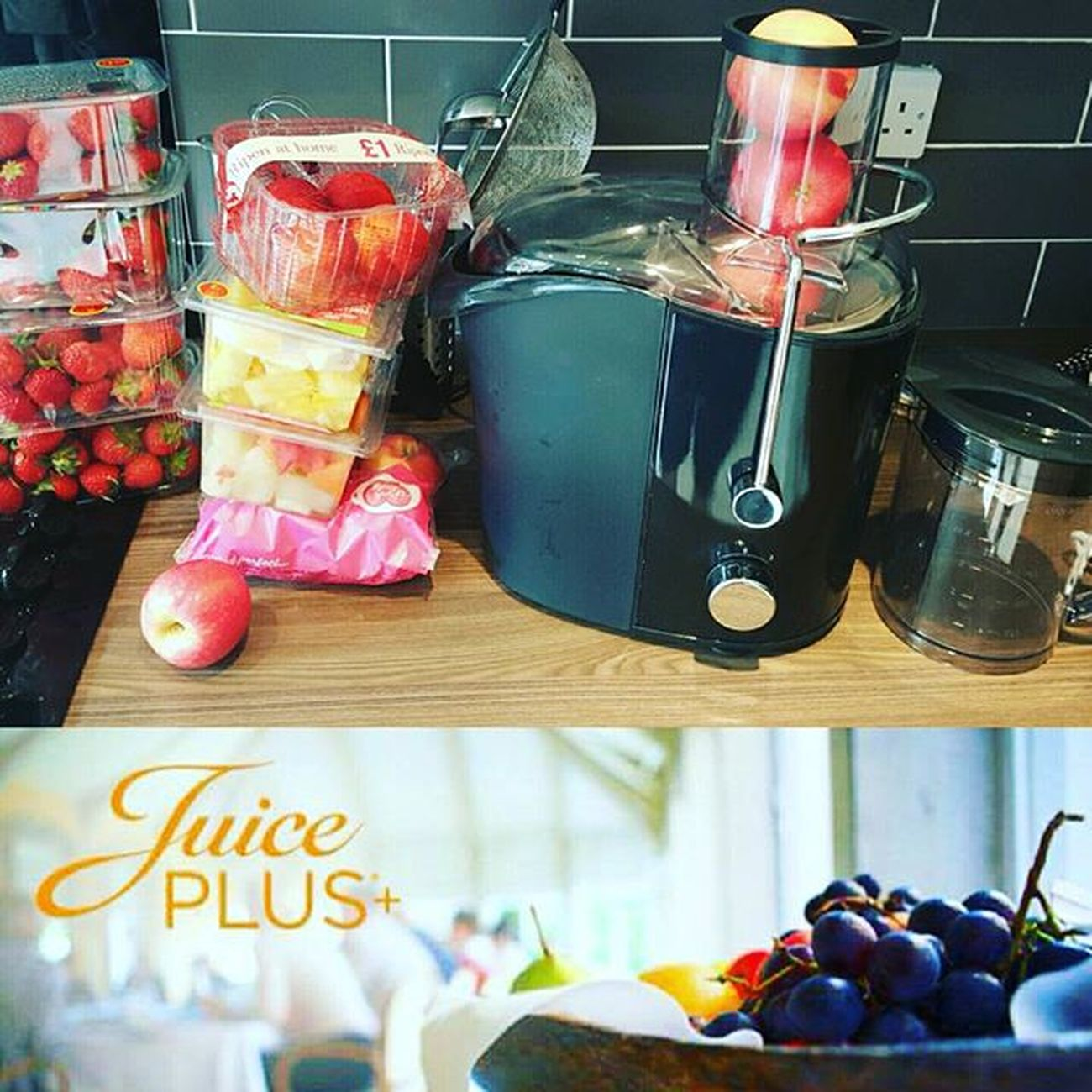 I love my juicer... Sunshine Scotland Strawberry Pinkladyapple Melonmedley Pinapple Healthychoices Healthy Juicer Onesimplechange Oscgrancanaria Juiceplus