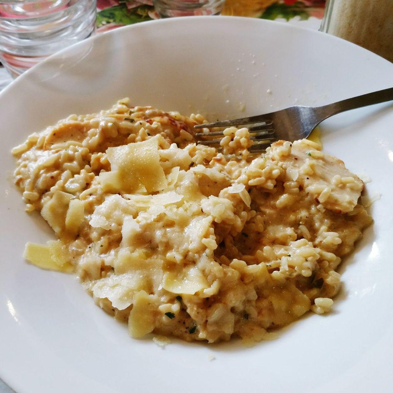 Delarte Restaurant Italian Food Rizoto