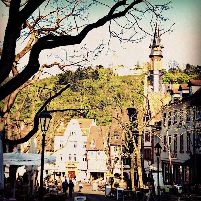Downtown Weinheim Germany