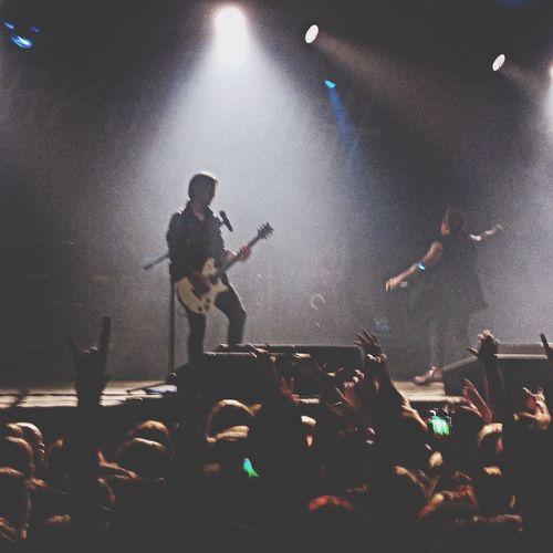 10.11.14 Papa Roach ? Paparoach A2spb Concert It was awesome!!!! We r waitin' for u next year ?