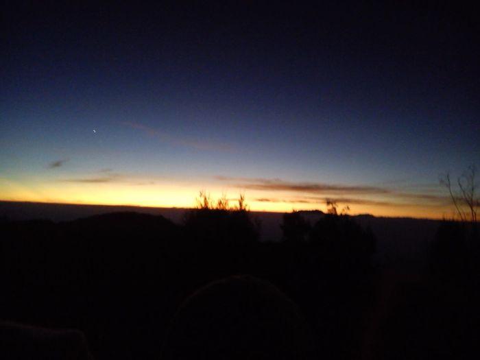Morning at Bromo Mountain, Wonderfull Indonesia Sunrise Silhouette
