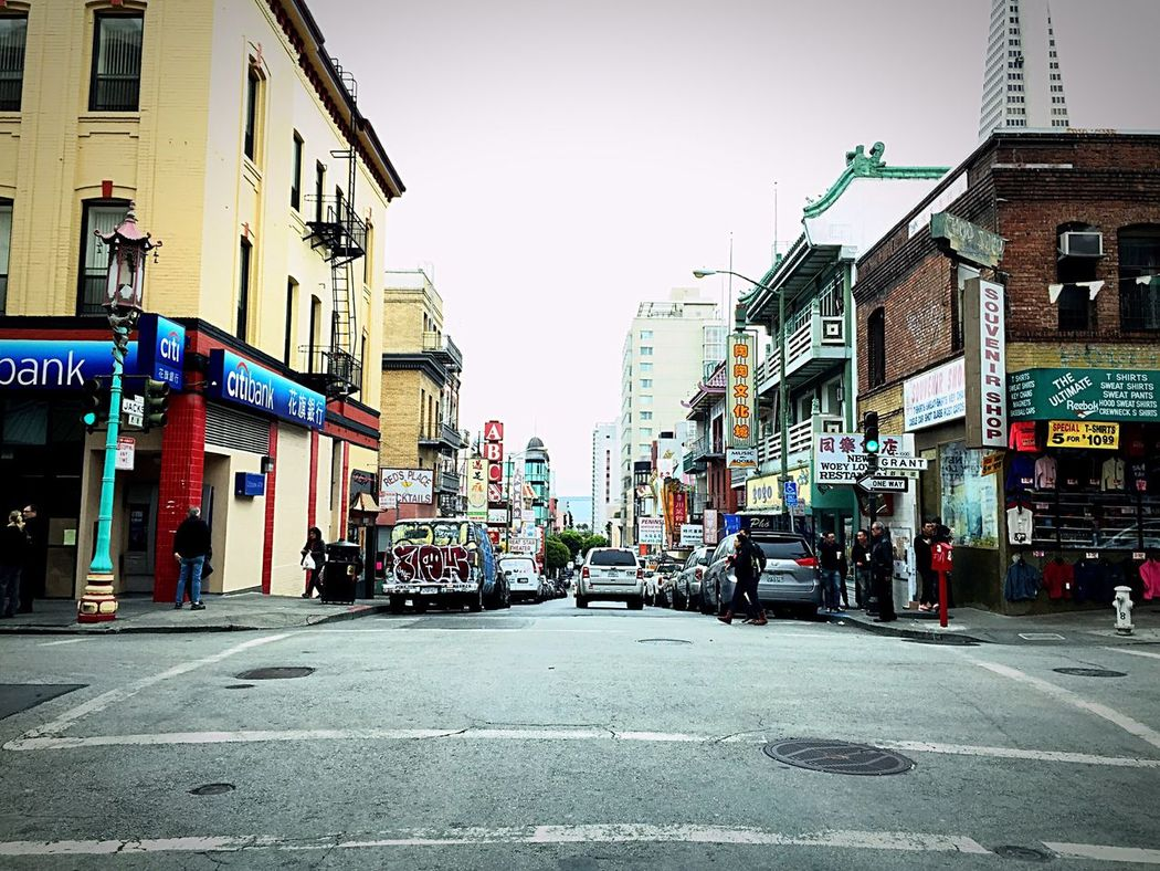 Chinatown San Francisco Jackson And Grant Street Best Place To Visit Chinese Love The City Streets Of San Francisco Chinatown the classic intersection for me at least. weekly ...