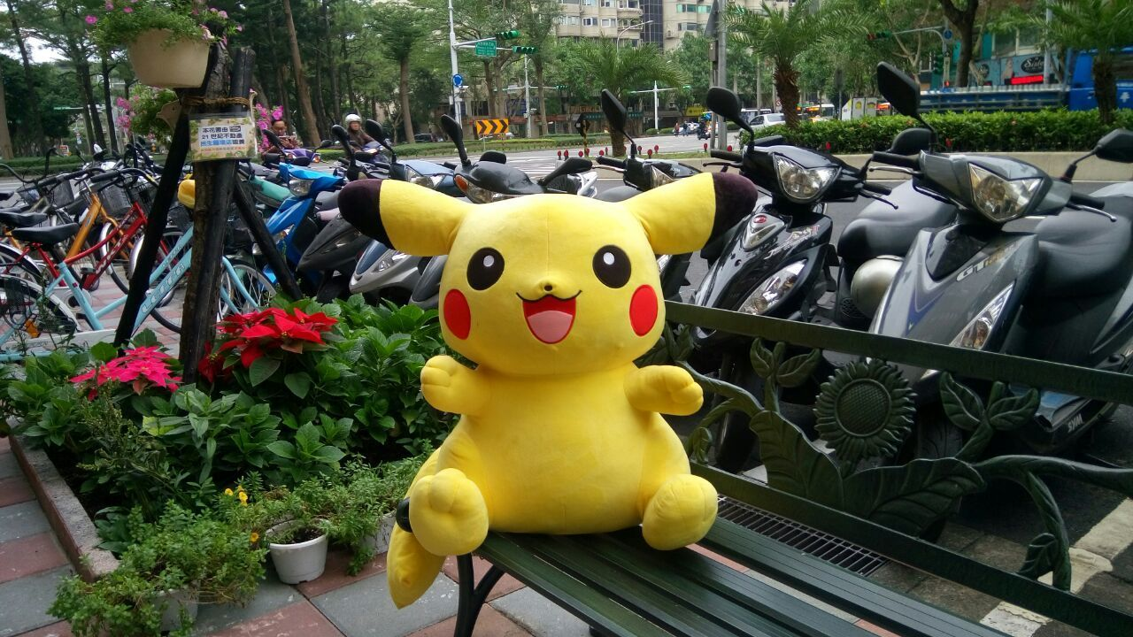 Yeaaay..I got You,Pikachu..😍 Pikachu Pokémon Animal Representation Toy No People Figurine  Multi Colored Close-up Nature Outdoors Day Streetphotography