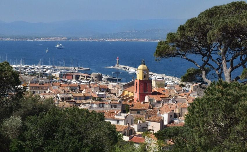 View from the Citadele in Saint Tropez Sea Seascape Sea View Old Town Town View View From Above Summer Views Port France Saint Tropez South Of France Neighborhood Map