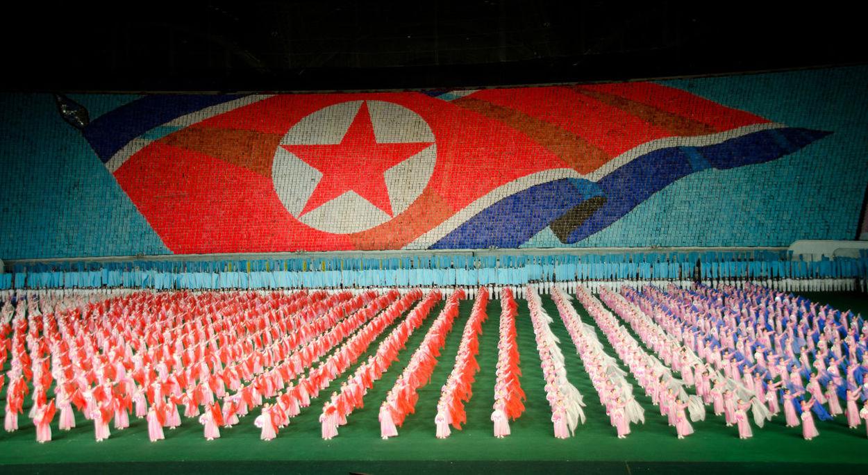Arirang Mass Games, Pyongyang, North Korea Dance Games North Korea Arirang Arirang Festival Choreography Flag Mass Games May Day Stadium Multi Colored