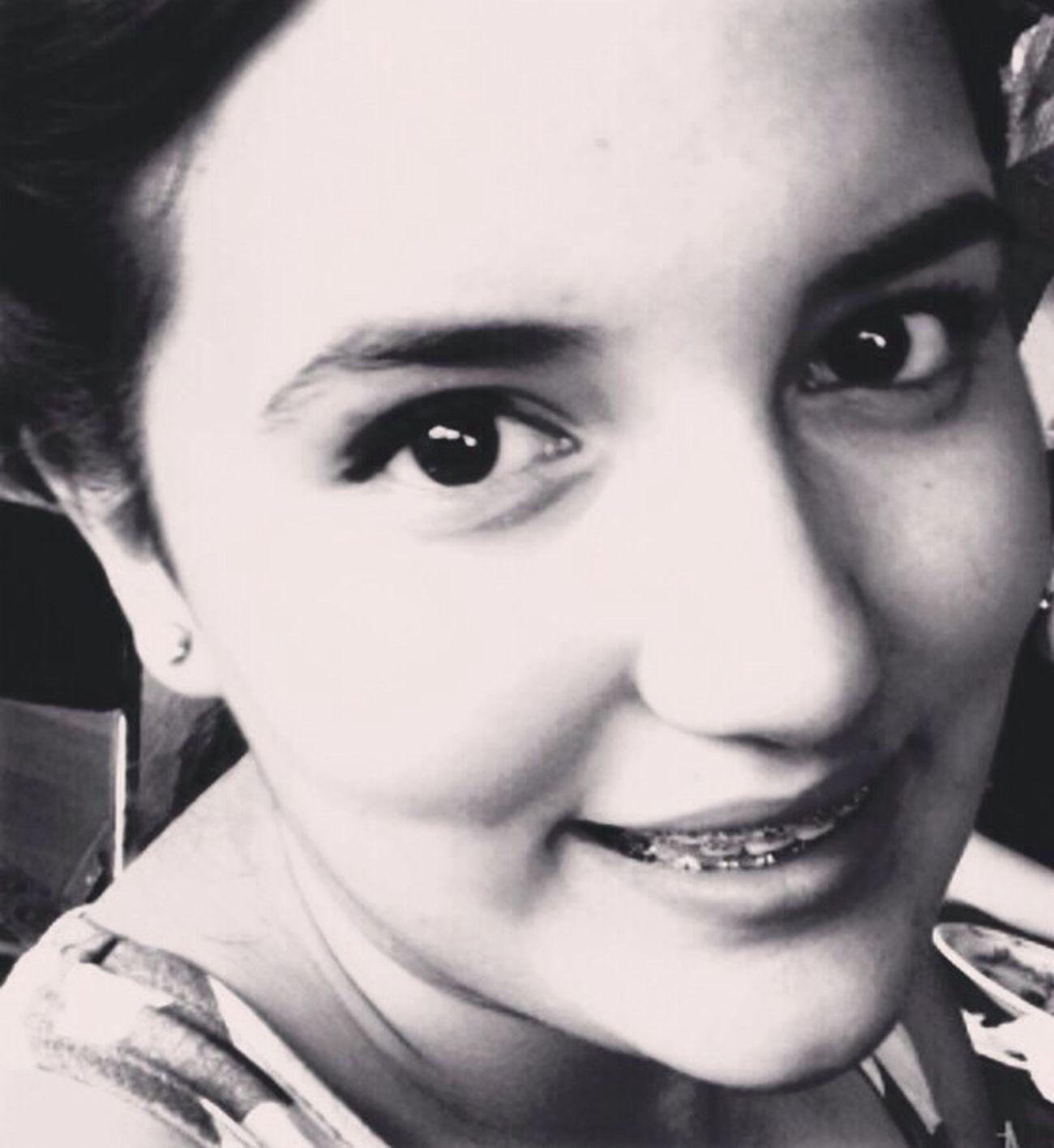 Girl Me:) Smile Black And White