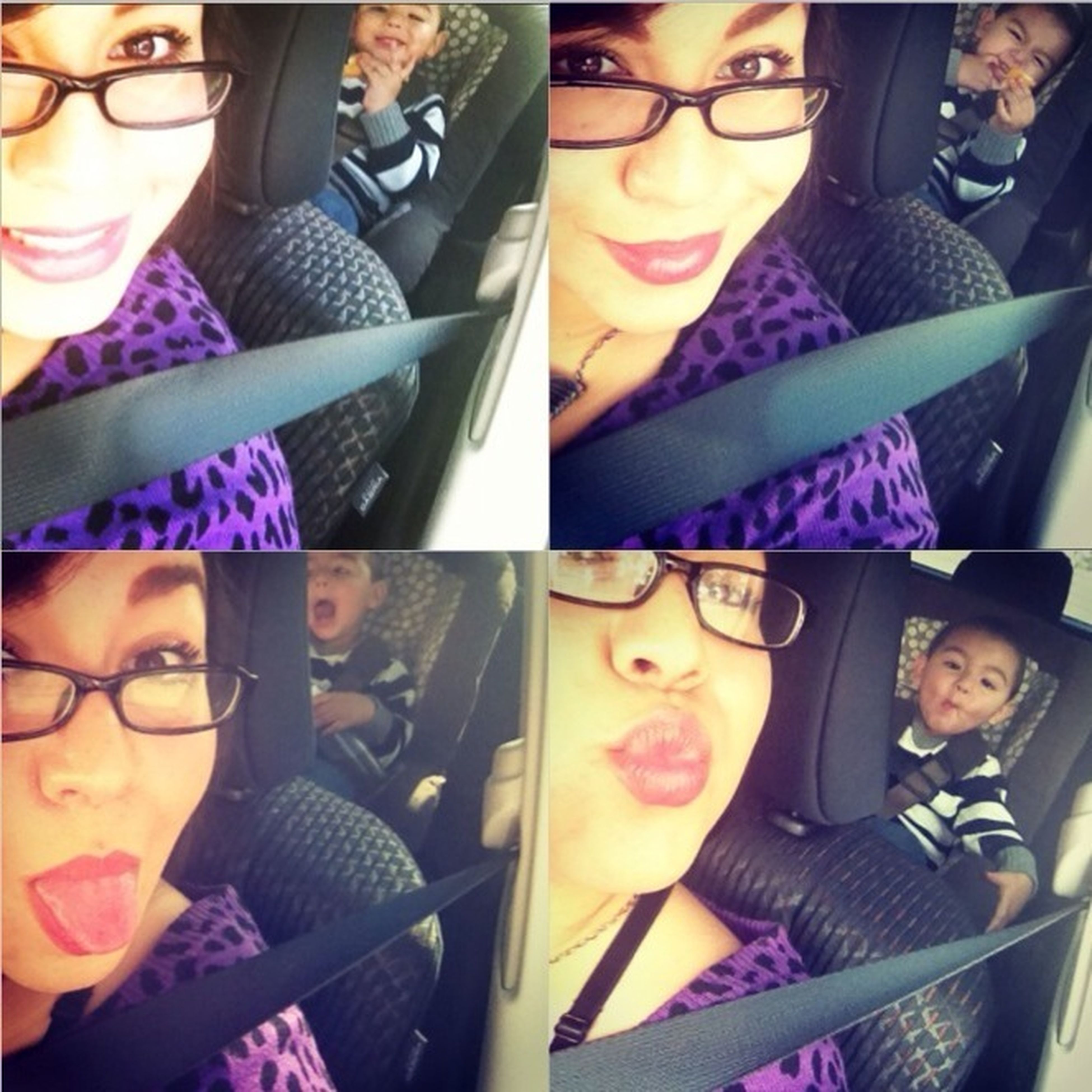 Acting Silly With My Baby