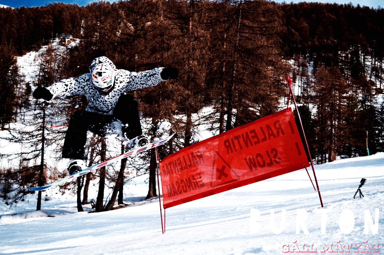 Snowboarding Snowboarding Burton  Snowboard Gopro Extreme Sports First Eyeem Photo