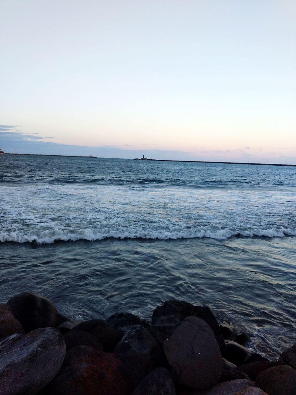 Beach Horizon Over Water Nature Sky Wave Chiiledwater No Stress Freedom