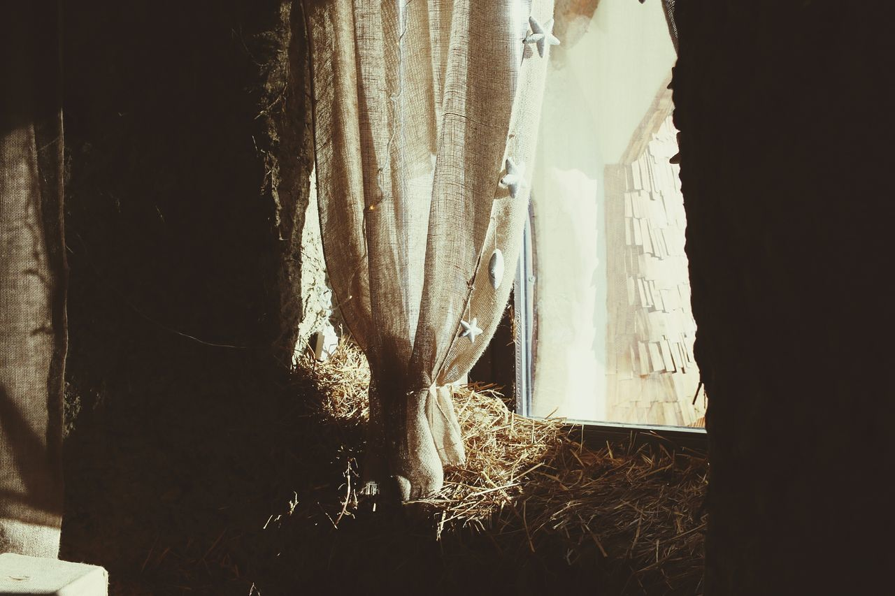 Curtain Window Indoors  Drapes  Close-up No People Day Castle Snow ❄ Winter Rest Abandoned Cold Temperature Built Structure Building Exterior Tree Cold Temperature Nature Castle Fairy Architecture Wood Art