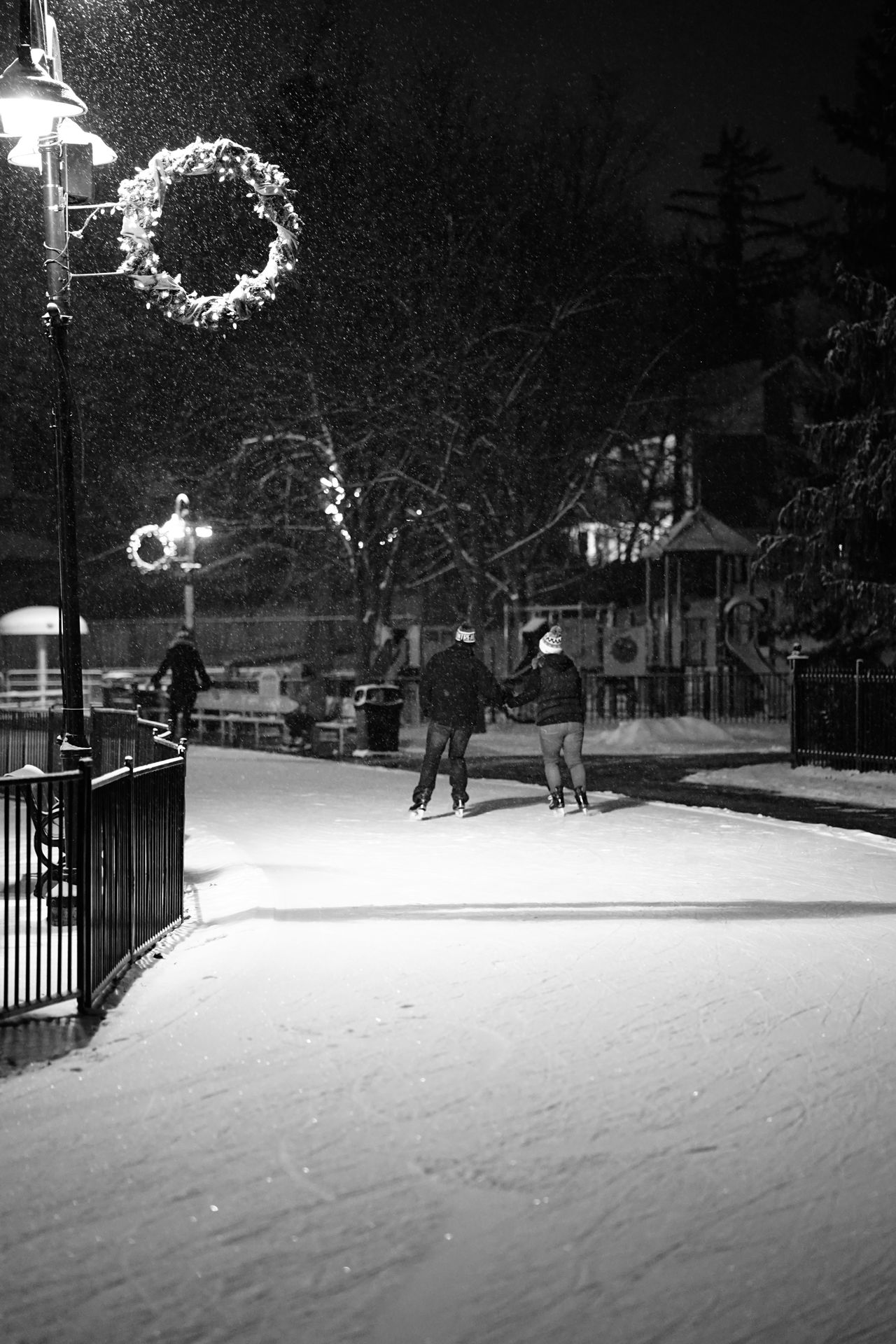 cold evening skate in Canada Black And White Canary Islands Enjoying Life Frigid Men Monochrome MusiXmatch Night Only Men Outdoors People People Photography Real People Skate Skating Sky Sport Winter