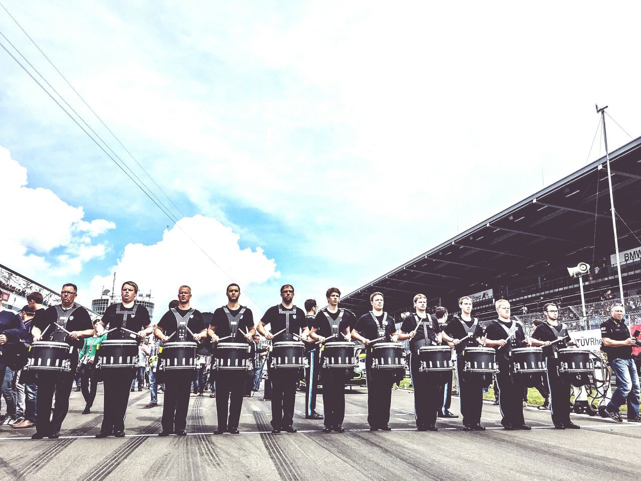 Motorsport 24h Race Nurburgring Orchestra Marching Band Marchingband Trommler Band Marsch Race