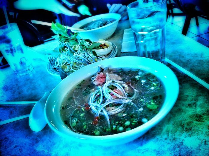 love the broth here! Pho