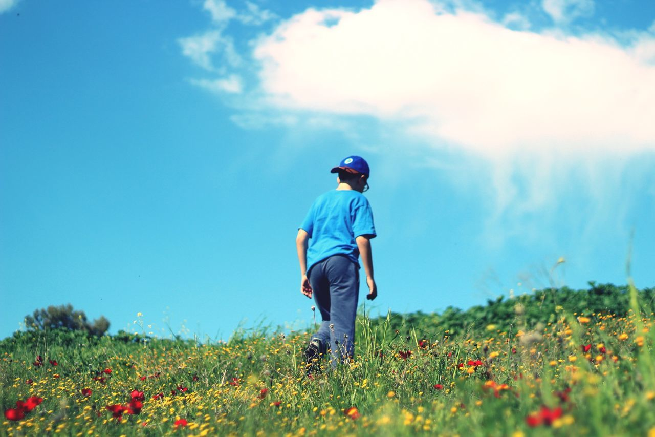 Beautiful stock photos of frühling, Beauty In Nature, Boys, Cap, Casual Clothing