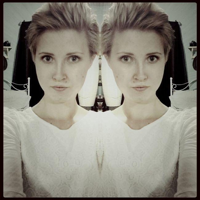Hair cut mirror selfie Selfie ✌ Hipster Shit  Short Hair