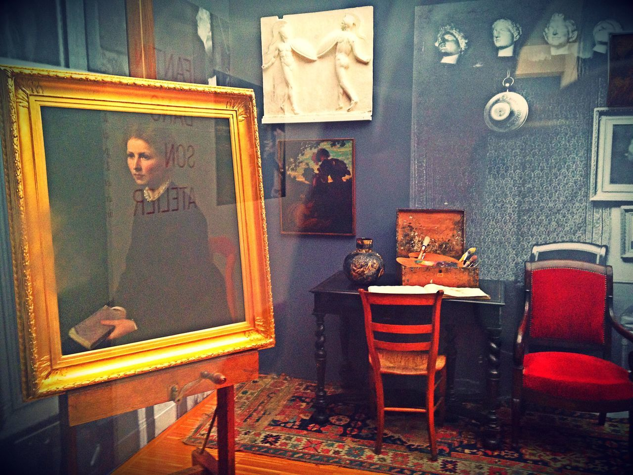 The Photojournalist - 2017 EyeEm Awards ~ L'atelier d'Henri Fantin-Latour France ✨ Museum Gallery Of Art Arts Culture And Entertainment Fine Art Painting Human Representation No People Indoors  Oil Painting Artsy Artistic Standing French Art Gallery Exhibition Painted Image