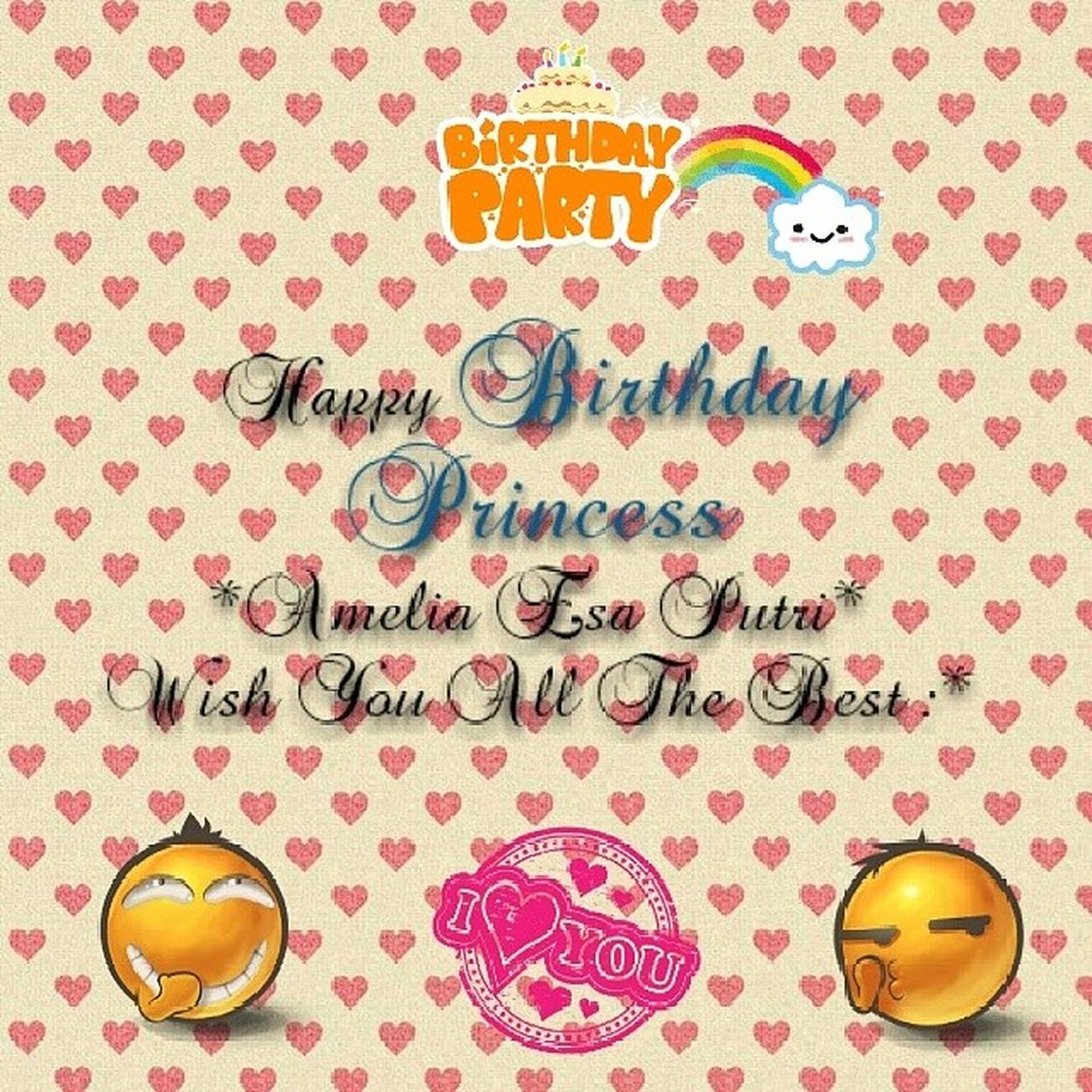 Happy Birthday My Princess Birthday Amel Cute Specialforyou instaedit instalike instagram instadaily instaphoto instamoment likelike likephoto like4like like likeedit instafollowers