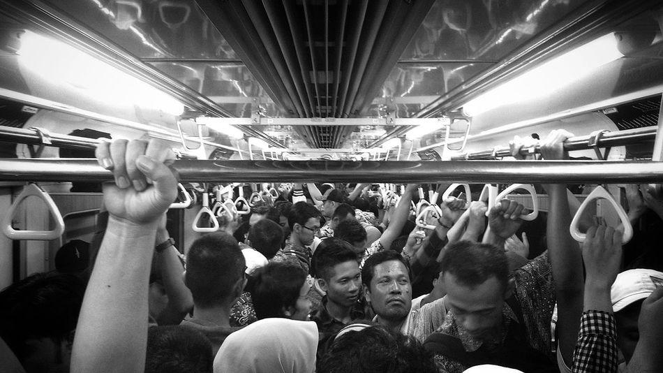 Blackandwhite Public Transportation