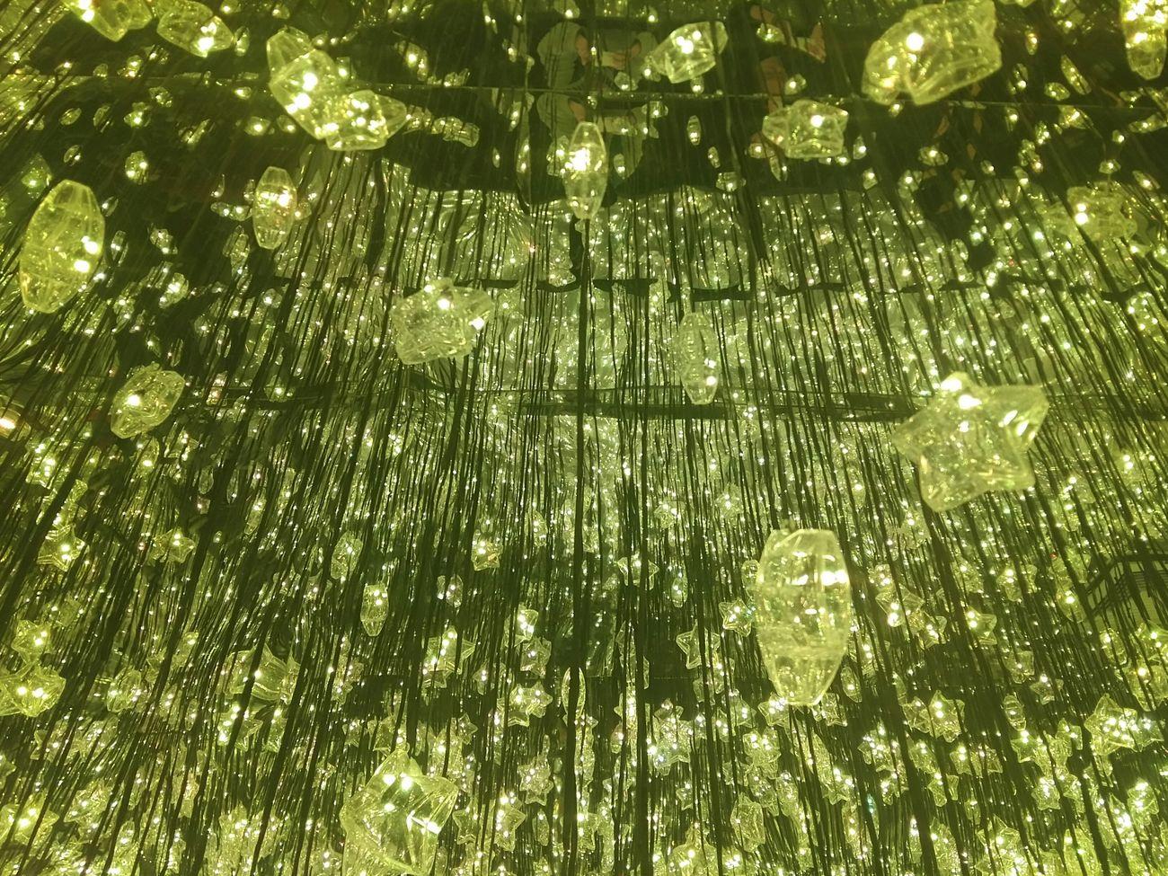Shooting Star Low Angle View Beauty Lighting Green Color Stars Dream Christams Lighting - Popcorns Hong Kong Tseung Kwan O