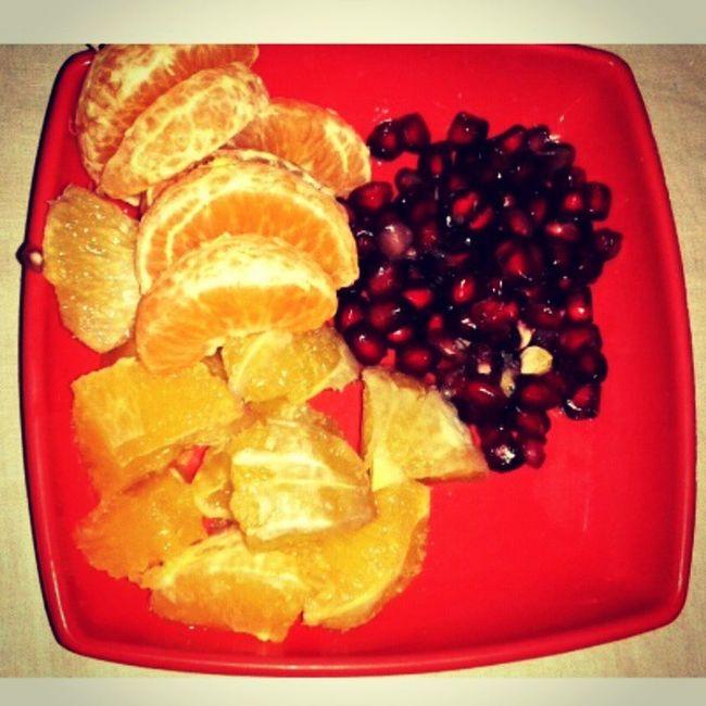 Winter Season  Fruits Orange Pomegranate Sweet_Lemon After Lunch Meal Healthy Food For Illness Instafood Foodporn Instalike Instashare Insta Follow Lateupdate Instahub .