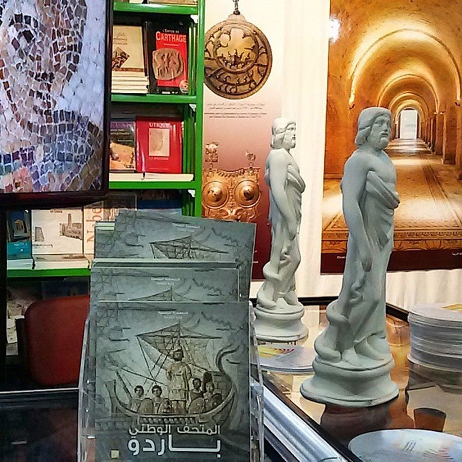 Hello Bardo from Foire_inyernationale_du_livre IgersTunisia Jesuisbardo The biggest mosaic collection is in Bardo_Museum ... the biggest Art piece too ... Guinness carthagina أحكيلي تونس :)