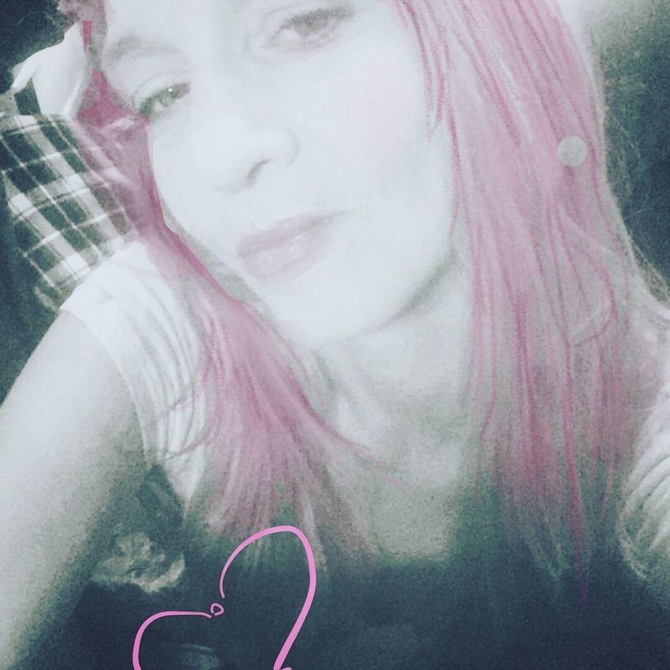 Self Potrait Pink Hair Paper 53