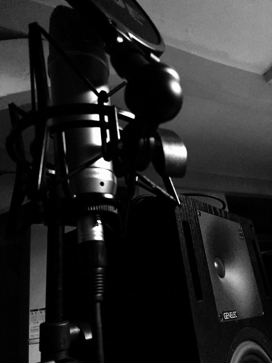 Studio Making Music Techno Session