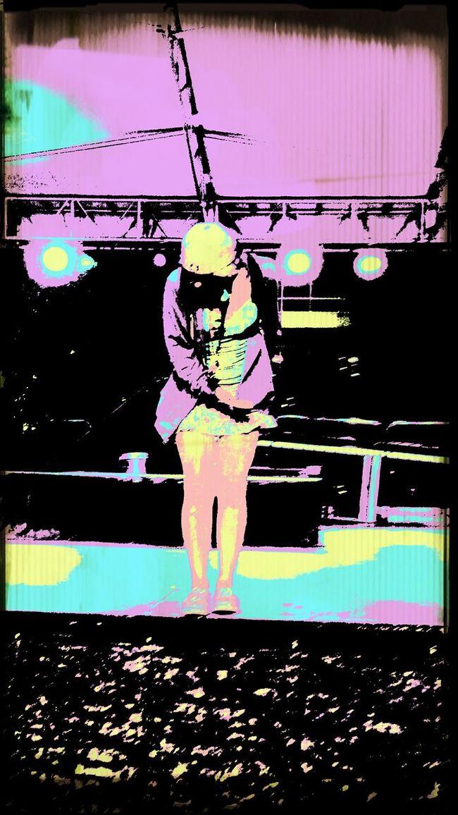 Rebecca on stage at fountain square Cincinnati, Ohio. Starring Me Fountain Square That's Me Amazing Cincinnati