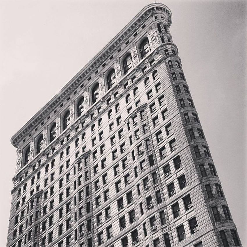 Flat As A Pancake Flatiron Newyorkstate Architecture NYC Blackandwhite B Tourist NY Brick Awesome Newyork Attraction Tall