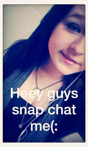 My snap chat from earlier (: Selfie ✌ School Cute Red