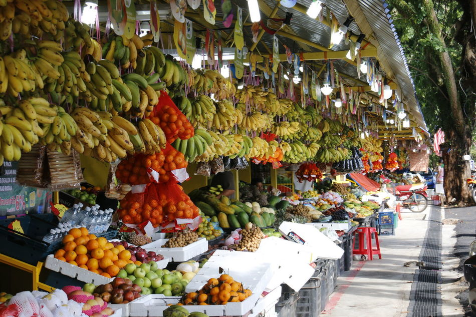 Fruits Hawker Hawker Stall Roadside Stall Street Streetside Tropical Tropical Fruits Village color of life Colour Of Life