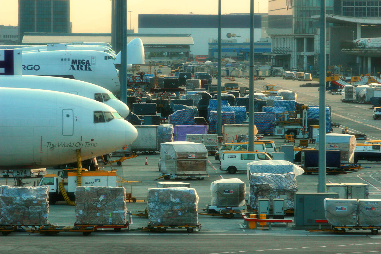 transportation, mode of transport, day, public transportation, outdoors, airplane, no people
