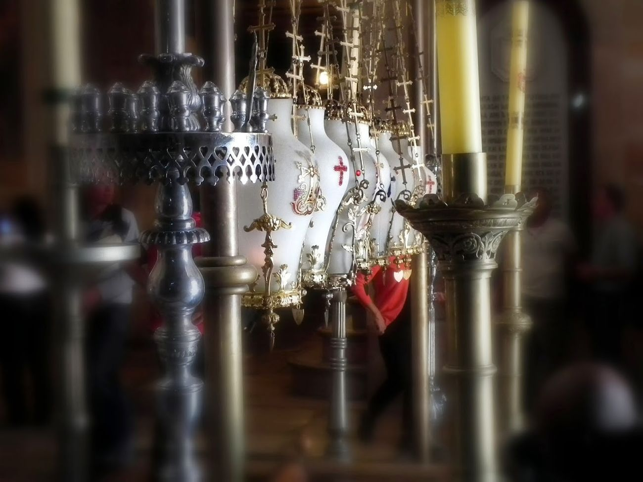Church Of The Holy Sepulshre Jerusalem Israel