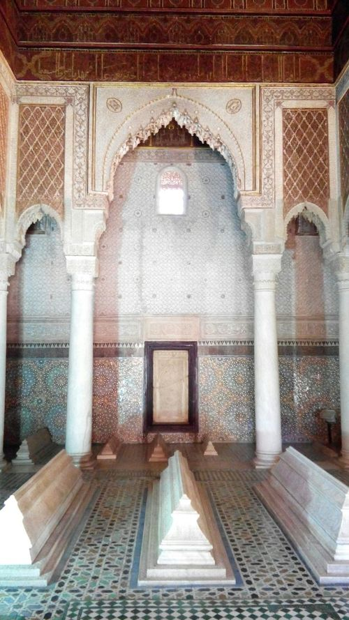 Morroco Oriental Design Beautiful Architecture Holidays Saadian Tombs