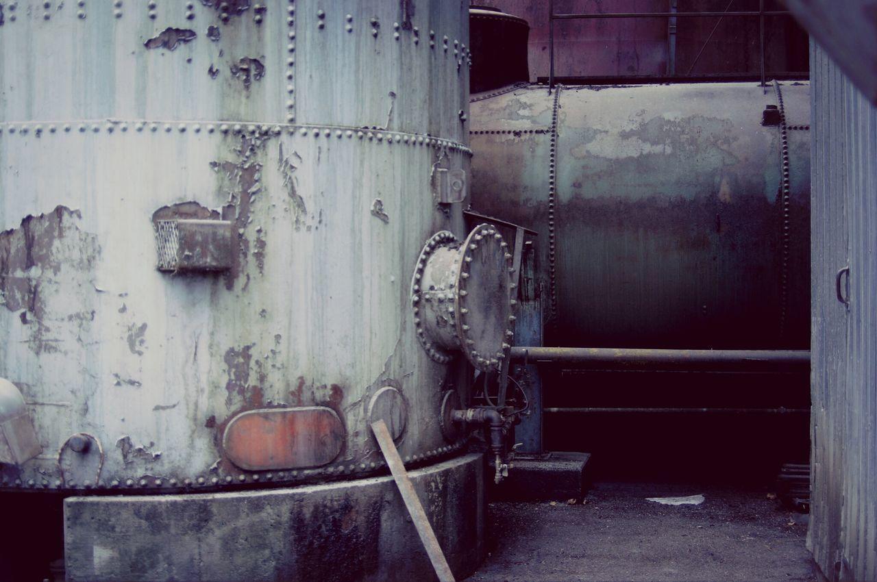 Iron Scrap Industrial Train Yard shooting.