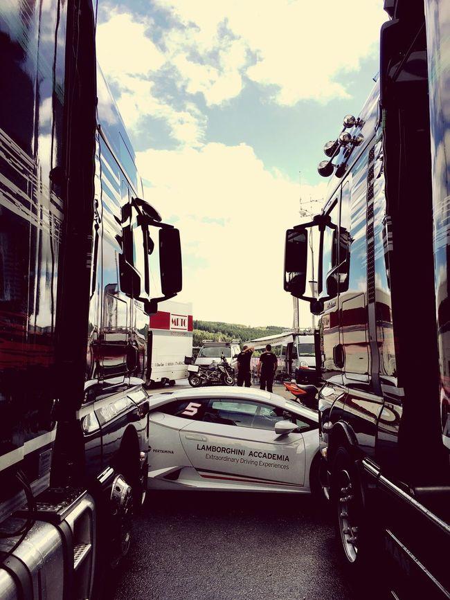 Spa Cirquit De Spa Lamborghini Racing Pitlane Weekend