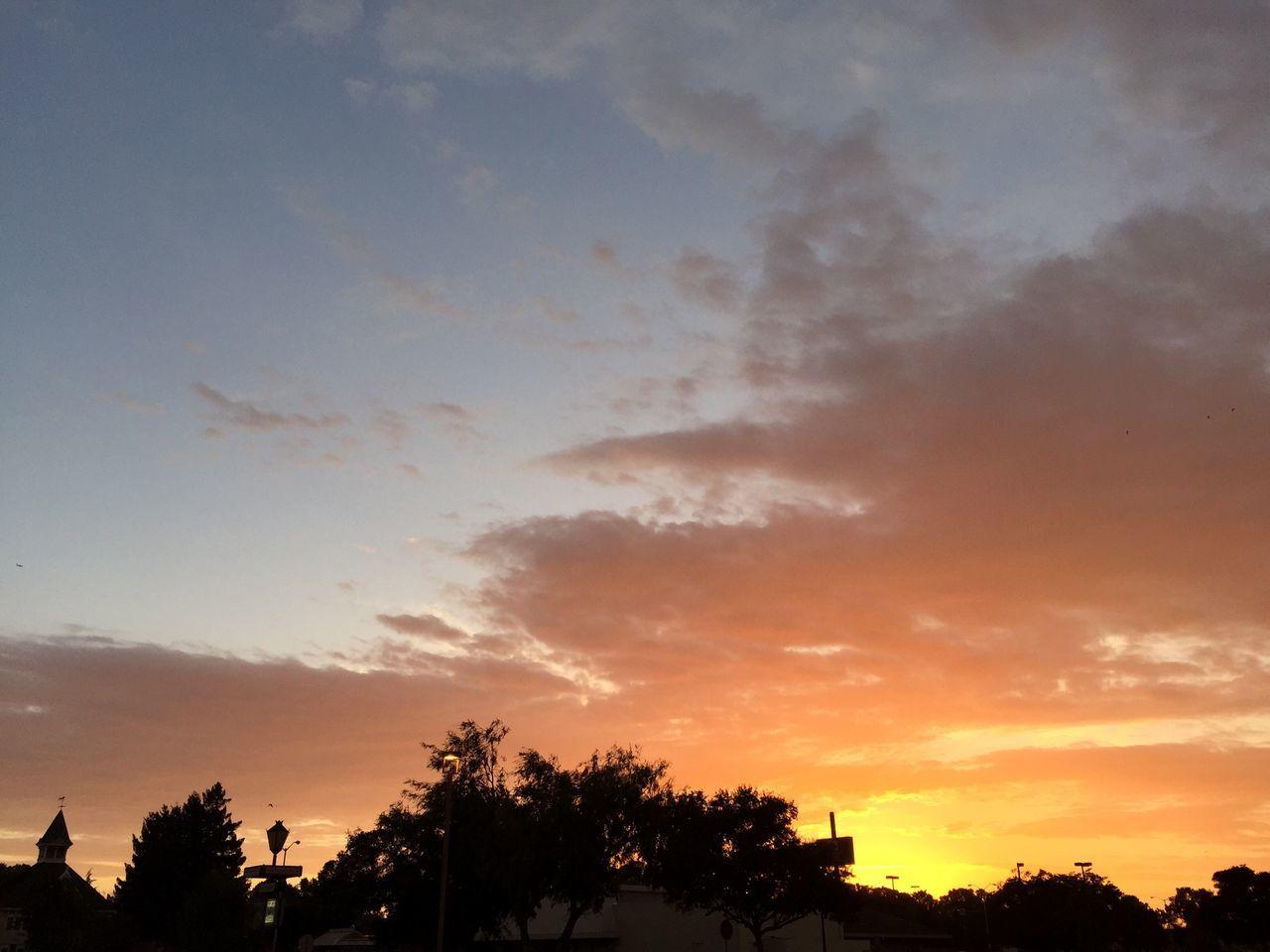 Sunset California America